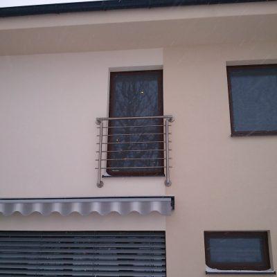Zábradlie exteriérové výroba na Francúzsky balkón 02